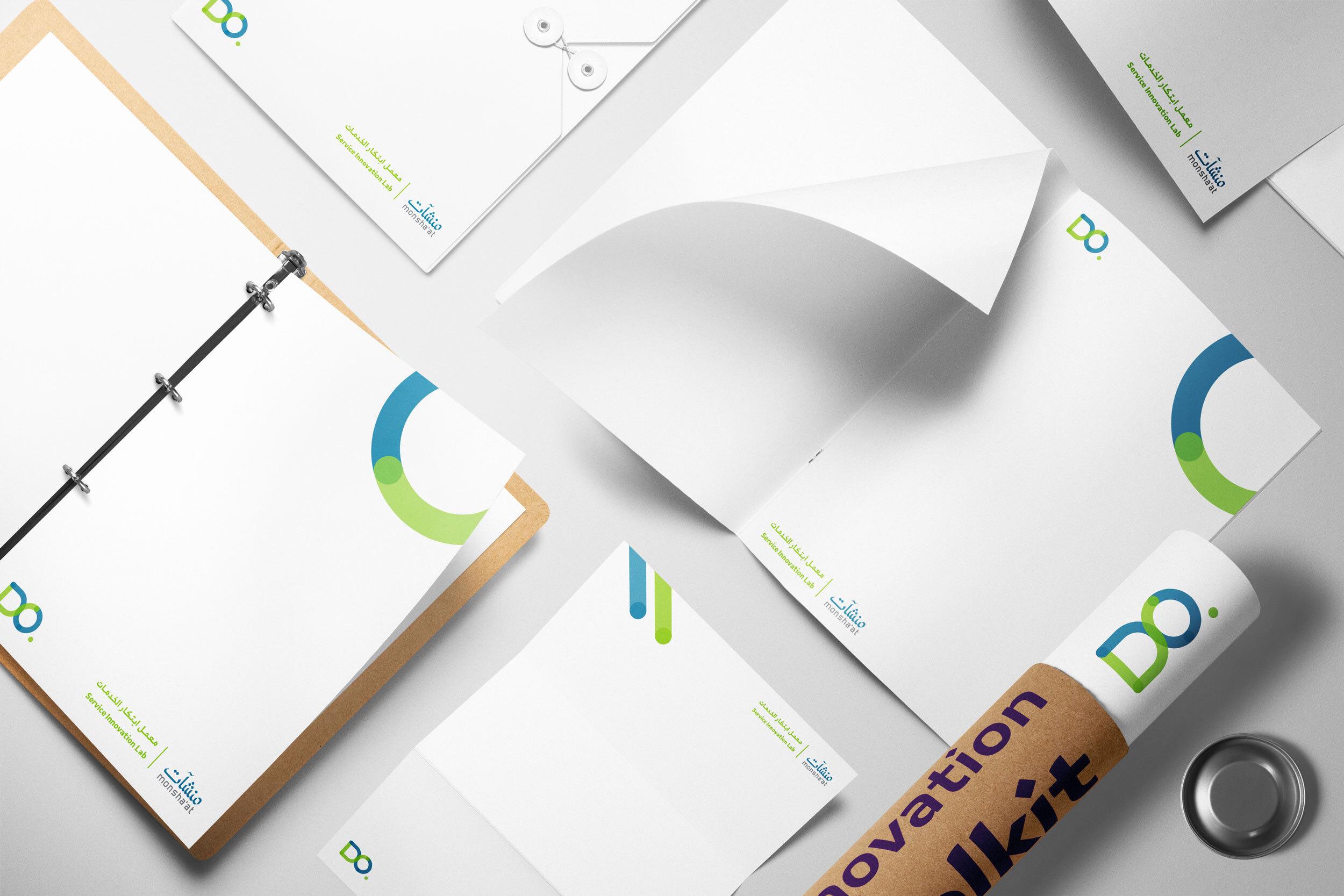 هوية العلامة التجارية وكتاب الإرشادات